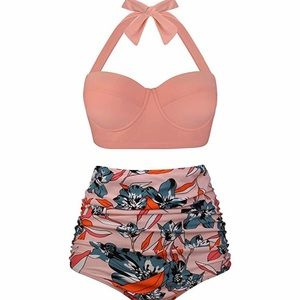 Other - 🆕Plus Size Vintage High Waisted Swimsuit